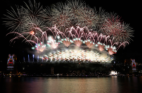 風景「Sydney Celebrates New Year's Eve 2015」:写真・画像(18)[壁紙.com]