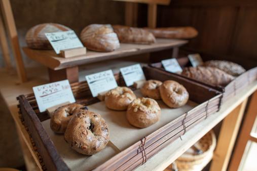 Bakery「Stone oven baked bread on display」:スマホ壁紙(12)