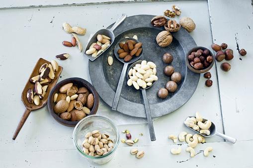 カシューナッツ「Various nuts」:スマホ壁紙(7)
