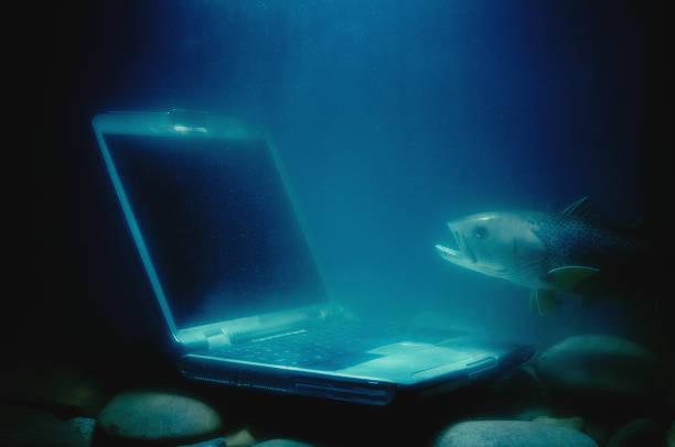 Sunken Laptop:スマホ壁紙(壁紙.com)