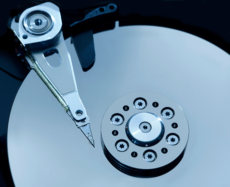 Cloud Storage「Hard disc platter」:スマホ壁紙(9)