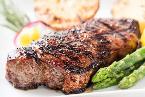 Asparagus「Char Grilled New York Steak」:スマホ壁紙(12)
