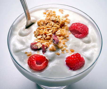 Granola「yogurt in glass dish」:スマホ壁紙(12)
