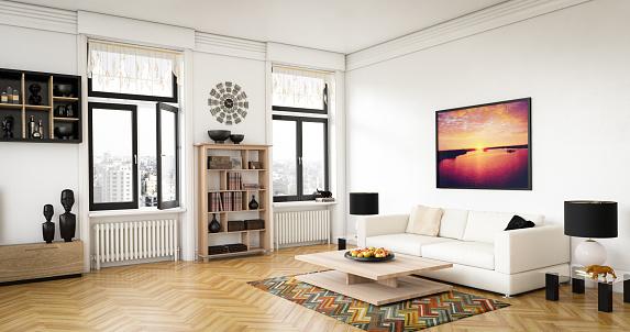 Scandinavian Culture「Luxury Living Room」:スマホ壁紙(18)