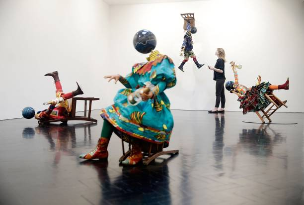 Artworks By Yinka Shonibare Are Exhibited At The Stephen Friedman Gallery:ニュース(壁紙.com)
