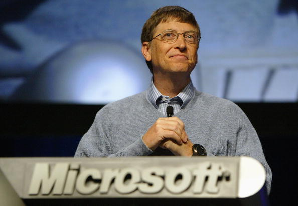 Business Finance and Industry「Bill Gates Presents Microsoft's Future」:写真・画像(5)[壁紙.com]