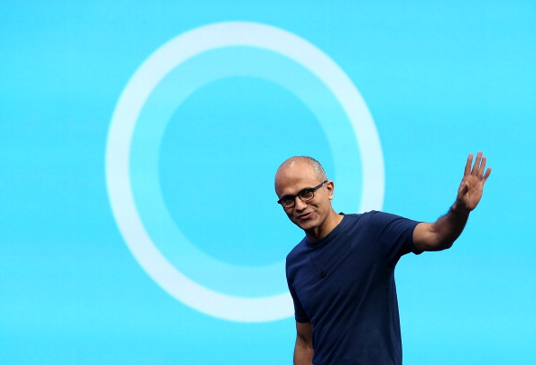 Microsoft「Satya Nadella Delivers Opening Keynote At Microsoft Build Conference」:写真・画像(14)[壁紙.com]