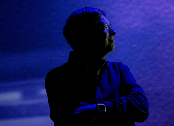 Shadow「Microsoft Chairman Bill Gates Delivers Opening Keynote At CES In Las Vegas」:写真・画像(6)[壁紙.com]