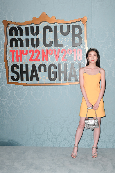 Baby Doll Dress「Miu Miu Club Shanghai – A Restaging Of The Cruise 2019 Fashion Show」:写真・画像(8)[壁紙.com]