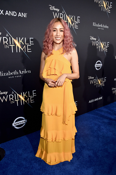Pink Hair「World Premiere of Disney's 'A Wrinkle In Time'」:写真・画像(9)[壁紙.com]