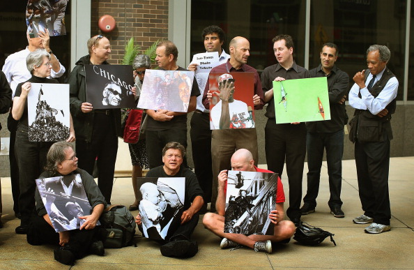 写真家「Former Chicago Sun Times Photographers Hold Exhibit Outside Paper That Ousted Whole Dept.」:写真・画像(9)[壁紙.com]