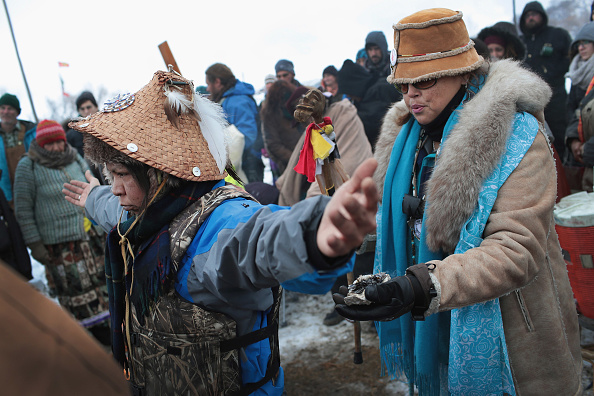 Dakota Access Pipeline「Protests Continue At Standing Rock Sioux Reservation Over Dakota Pipeline Access Project」:写真・画像(17)[壁紙.com]