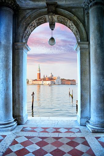 Gondola「Church of San Giorgio Maggiore, Venice」:スマホ壁紙(8)