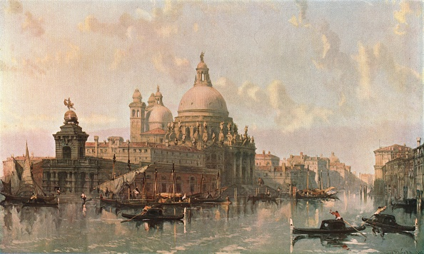Passenger Craft「Church Of Santa Maria Della Salute」:写真・画像(11)[壁紙.com]