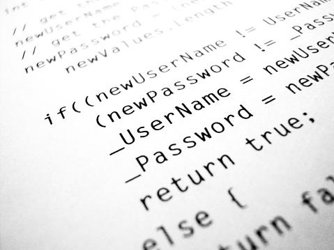 Password「computer code」:スマホ壁紙(3)