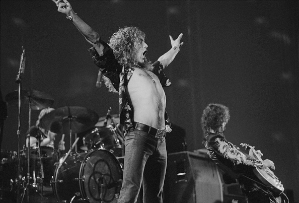 1975年「Led Zeppelin At Earl's Court」:写真・画像(8)[壁紙.com]