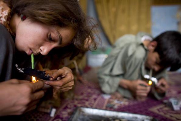 Kabul「Women And Children Living With Drug Addiction」:写真・画像(10)[壁紙.com]