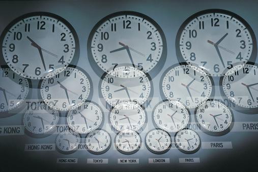Multiple Exposure「Clocks」:スマホ壁紙(3)