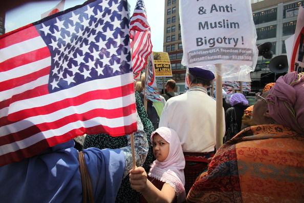 USA「Activists Hold Anti-War Rally In New York」:写真・画像(3)[壁紙.com]