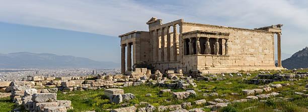 Erechteum Caryatids in Acropolis of Athens:スマホ壁紙(壁紙.com)