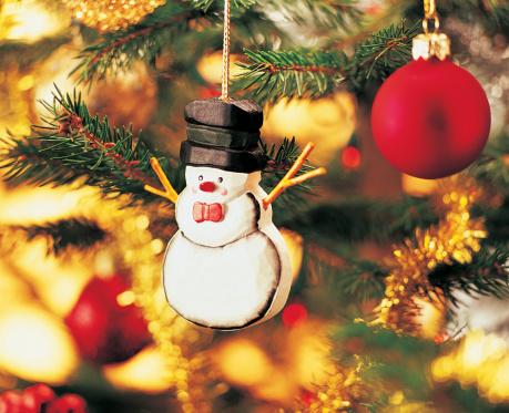 雪だるま「Snowman Christmas Ornament」:スマホ壁紙(13)