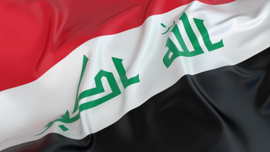 Middle Eastern Culture「Iraq Flag」:スマホ壁紙(18)
