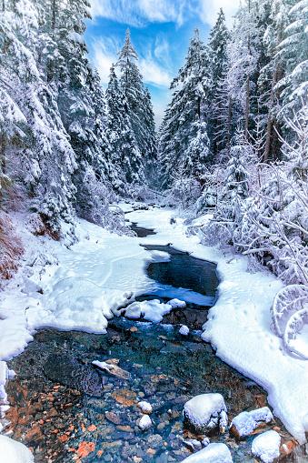Snowdrift「Vacations in Poland - Valley of white stream, Tatra Mountains」:スマホ壁紙(5)