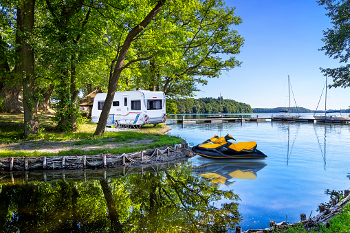 West Pomeranian Voivodeship「Vacations in Poland - Summer view on a bay of the Drawsko lake」:スマホ壁紙(15)