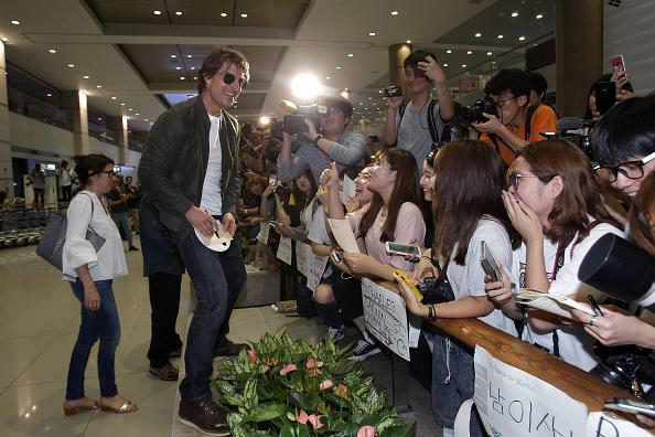 Chung Sung-Jun「Mission: Impossible - Rogue Nation Korea Premiere - Airport Arrivals」:写真・画像(2)[壁紙.com]