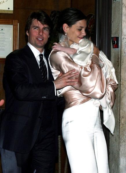 Satin「Tom Cruise And Katie Holmes - Wedding Preparation」:写真・画像(19)[壁紙.com]