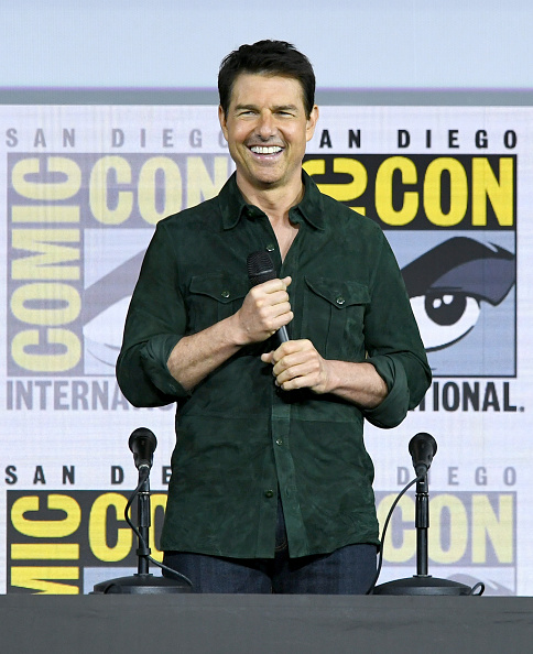 "Comic con「2019 Comic-Con International - Tom Cruise Makes Surprise Appearance For ""Top Gun: Maverick""」:写真・画像(10)[壁紙.com]"