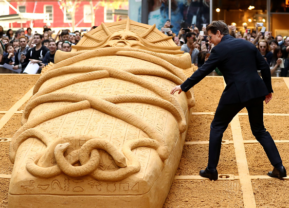 Sand Sculpture「The Mummy Photo Call」:写真・画像(4)[壁紙.com]