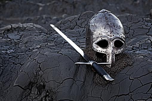 Fairy Tale「Viking sword, helmet and equipment」:スマホ壁紙(6)
