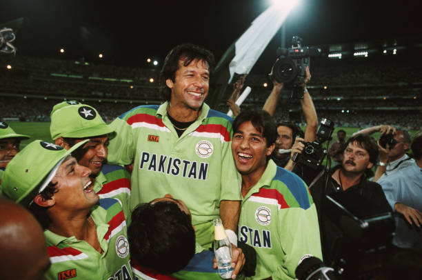 Pakistan Captain Imran Khan 1992 Cricket World Cup Final:ニュース(壁紙.com)