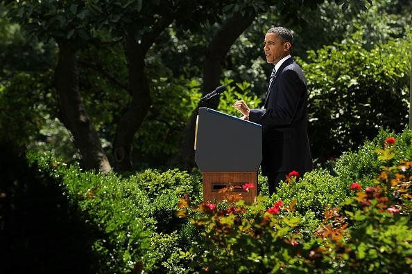 Ceiling「President Obama Makes Statement In The White House Rose Garden」:写真・画像(4)[壁紙.com]