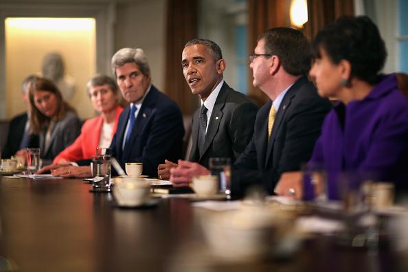 閣僚「President Obama Holds A Cabinet Meeting At White House」:写真・画像(12)[壁紙.com]
