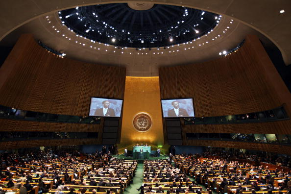 United Nations Building「President Obama Addreses The UN Secretary General's Climate Change Summit」:写真・画像(12)[壁紙.com]