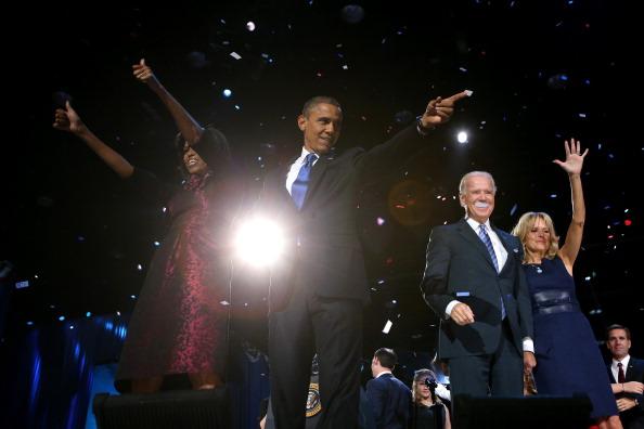 成功「President Obama Holds Election Night Event In Chicago」:写真・画像(17)[壁紙.com]