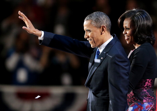 黒「President Obama Holds Election Night Event In Chicago」:写真・画像(10)[壁紙.com]
