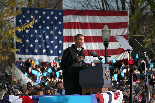 Oregon - US State「President Obama Continues His Push Through Key Swing States In Final Days Before Election」:写真・画像(9)[壁紙.com]