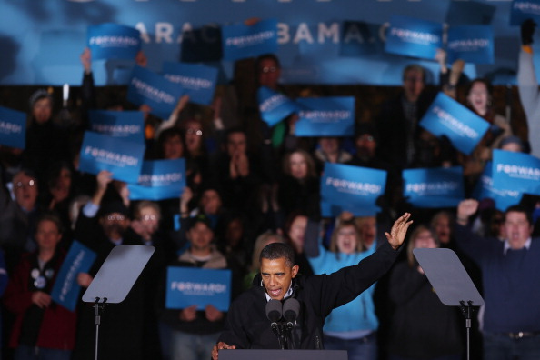 Oregon - US State「President Obama Continues His Push Through Key Swing States In Final Days Before Election」:写真・画像(6)[壁紙.com]