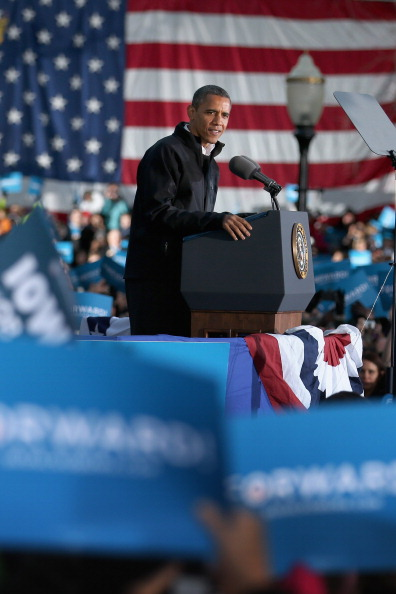 Oregon - US State「President Obama Continues His Push Through Key Swing States In Final Days Before Election」:写真・画像(16)[壁紙.com]