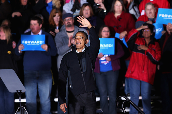 Oregon - US State「President Obama Continues His Push Through Key Swing States In Final Days Before Election」:写真・画像(5)[壁紙.com]