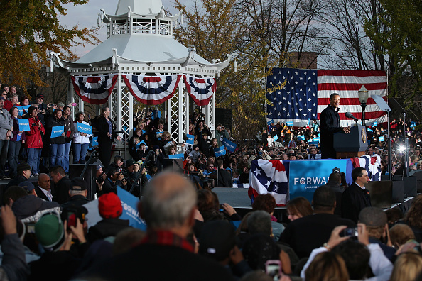 Oregon - US State「President Obama Continues His Push Through Key Swing States In Final Days Before Election」:写真・画像(10)[壁紙.com]