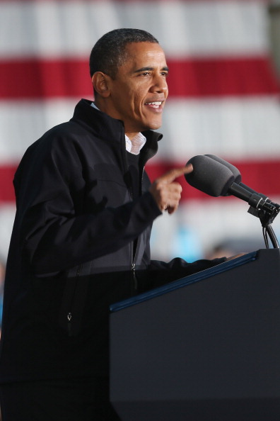 Oregon - US State「President Obama Continues His Push Through Key Swing States In Final Days Before Election」:写真・画像(15)[壁紙.com]