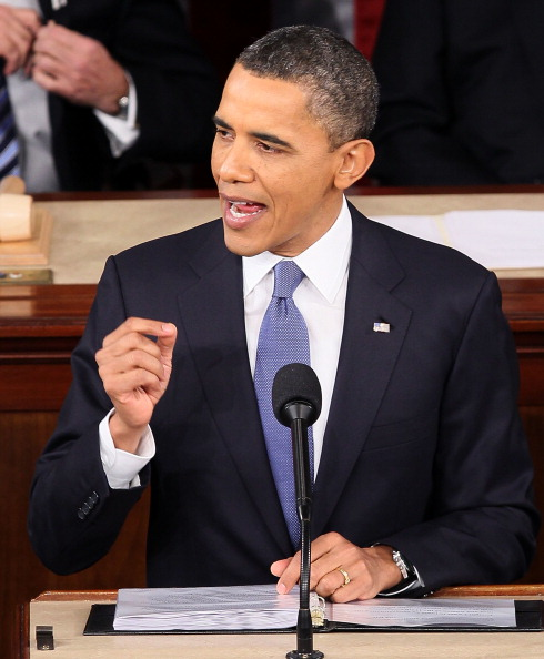 Alex Wong「Obama Delivers State Of The Union Address To Joint Session Of Congress」:写真・画像(4)[壁紙.com]
