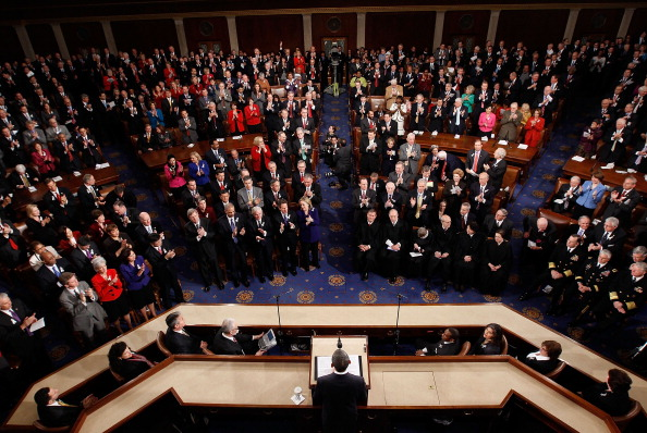 Joint Session of Congress「Obama Delivers State Of The Union Address To Joint Session Of Congress」:写真・画像(0)[壁紙.com]