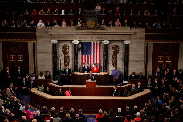 Joint Session of Congress「President Addresses Join Session Of Congress On Health Care」:写真・画像(11)[壁紙.com]