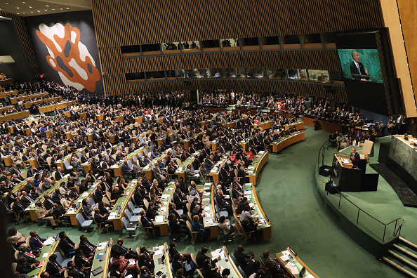 United Nations General Assembly「World Leaders Gather In New York For Annual United Nations General Assembly」:写真・画像(4)[壁紙.com]