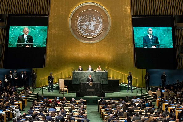 United Nations Building「World Leaders Gather In New York For Annual United Nations General Assembly」:写真・画像(18)[壁紙.com]